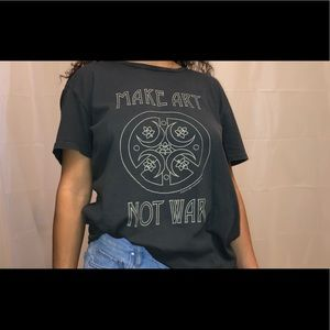 Obey Make Art Not War Tee